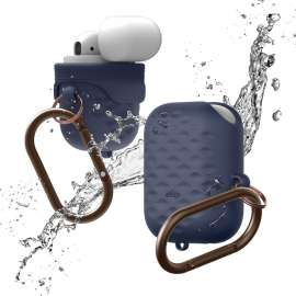 elago AirPods Waterproof Hang Active Case - Jean Indigo
