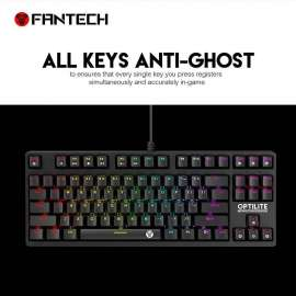 Fantech MK872 RGB Optilite Tournament Edition RGB Optical Switch Keyboard
