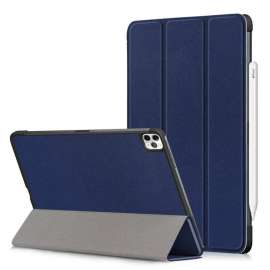 Devia Leather Case with Pencil Slot for ipad Pro11(2020 ) Blue