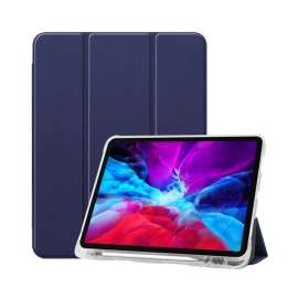 Green Yashi Premium Series Leather Case for iPad 12.9inch (2019) - Blue