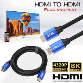 High Speed 8K 4K HDMI To HDMI HD 2.1V Digital Cable Ethernet -3M