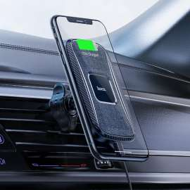 Hoco CA75 Car wireless charger Magnetic Dashboard and air outlet