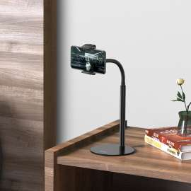 Hoco PH28 Metal Desktop Stand for 4.7-7 inch Phone & Tablet- Black