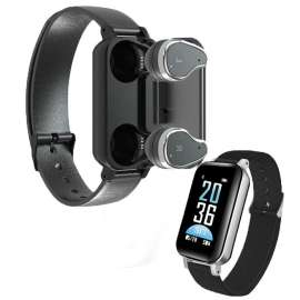 TWS T89 Wireless Headset Band + Smart Bracelet