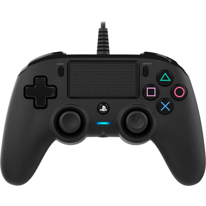 NACON Compact Wired Controller for PlayStation 4 - Black