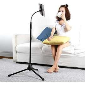 iPad Long Floor Stand for Phone and iPad/Tablet 4.7 inches-9.7