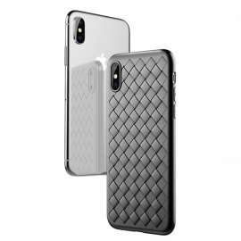 Joyroom Pattern Design Soft Case iPhone Xs - Black