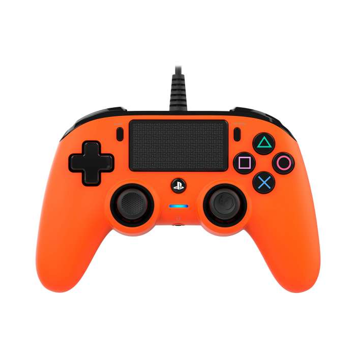 NACON Compact Wired Controller for PlayStation 4 - Orange