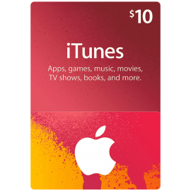 ITunes Gift Card $10 - Us