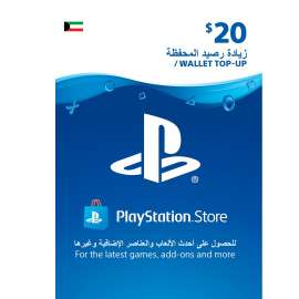 Sony Playstation Network Card $20 - Kuwait