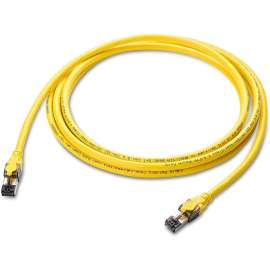 KUWES Cat8 High Speed Ethernet Cable up to 40Gbps - 2m - yellow