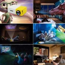 LED Mini Projector The Most Cost-Efficient High Resolution LED Projector