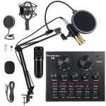 Live Broadcast Equipment Microphone Kit set