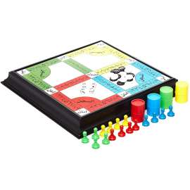LUDO AND RONG FA Arabic 4 In 1 GAME Chess