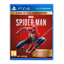 Marvel Spider-Man Game Of The Year Edition - PS4
