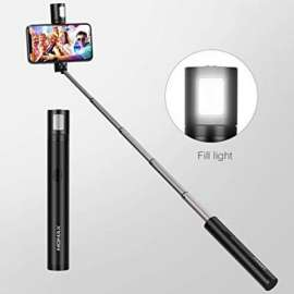 Momax  Selfie Stick with Mini LED Fill Light (KM12D)