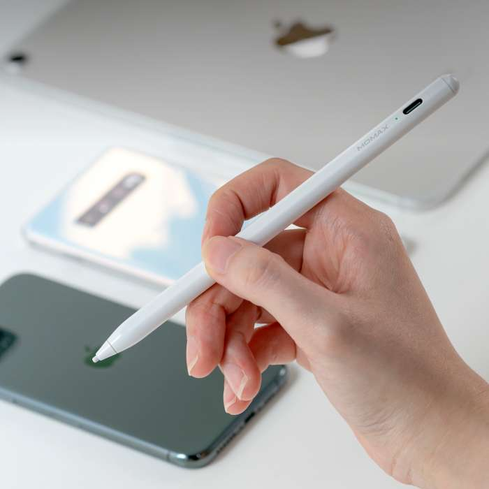 Momax One Link 2-in-1 Active Stylus Pen - White