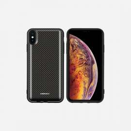Momax Q.Power Pack Magnetic Wireless Battery Case for iPhone XS Max -  Carbon Fiber