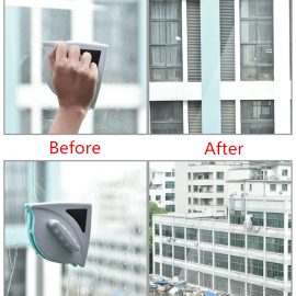 Double Faced Glass Magnetic Window Cleaner
