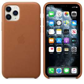 iPhone 11 Pro Leather Case - Siddle Brown (MWYD2FE/A)