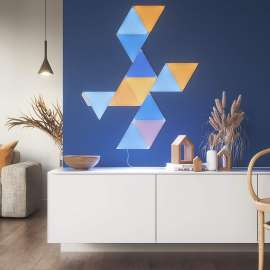 Nanoleaf Shapes Triangles Mini Light Panels STK White 5 Pack