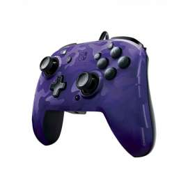 Nintendo Switch Faceoff Deluxe Purple Army Controller