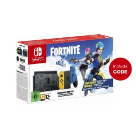 Nintendo Switch Fortnite Special Edition Console With Code