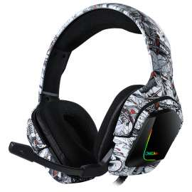 ONIKUMA K20 Advanced 4D Gaming RGB Headset - PS4 / Xbox / Nintendo / PC