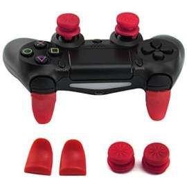 P4 Extended Trigger Analog L1 R1 for PS4 / PS5 – Red