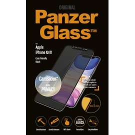 PanzerGlass Camslider Privacy CF Black for iPhone XR / 11 (6.1)