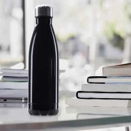 750mL Stainless Steel Double-Wall Water Bottle (12hrs Hot / 24hrs Cold)