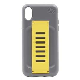 Grip2u Boost Case for iPhone XS MAX Graphite / Yellow Band