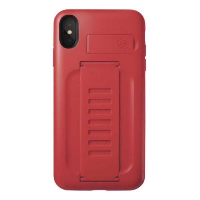 Grip2u Boost Case with Kickstand for iPhone XS Ruby (5.8)