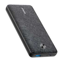 Anker PowerCore Metro Essential 20000 PD Black Fabric