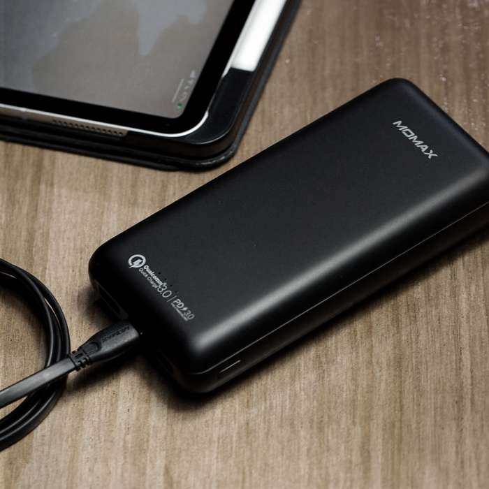 Momax iPower Minimal PD3 External Battery Pack 20000mAH - Black