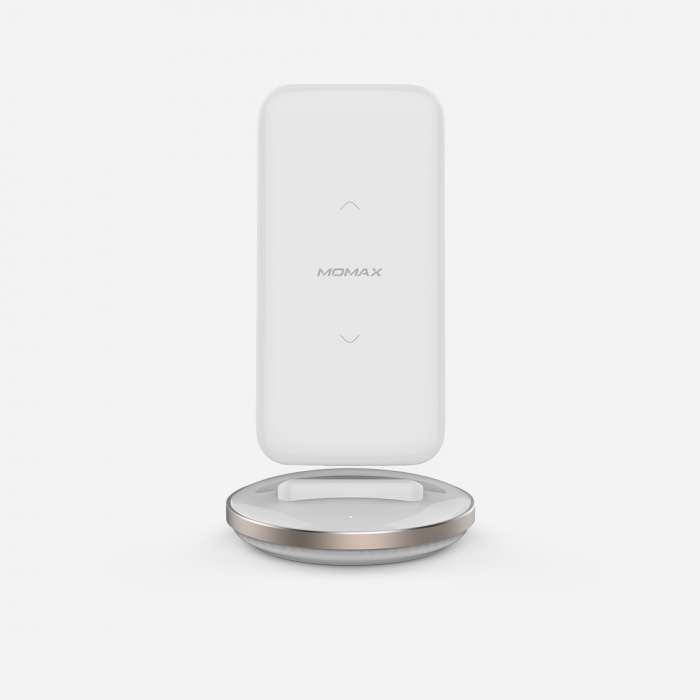 Momax Q. Power Pro Wireless Battery Pack 8000mAh with Smart Dock - White