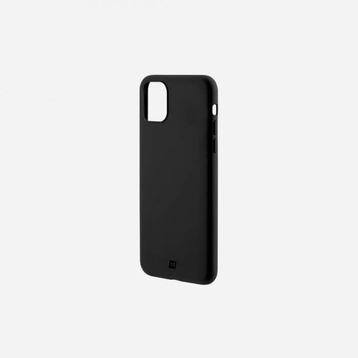 Momax Silk & Softy Silicone 2.0 Case iPhone 11 Pro - Black