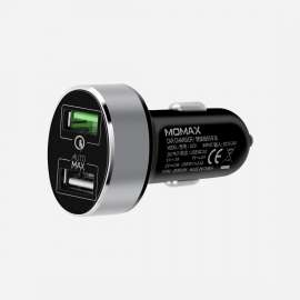 Momax UC 9 Dual-Port USB Fast Car Charger