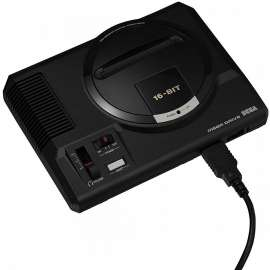 SEGA MEGA DRIVE with 42 Games with HDMI Port
