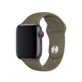 SILICON STRAP FOR APPLE WATCH - Midnight Green