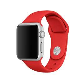 SILICON STRAP FOR APPLE WATCH - RED