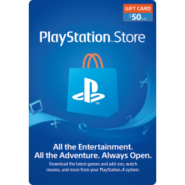 Sony Playstation Card $50 - US (Digital Code)