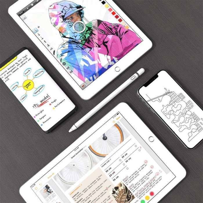 Stylus Pen Compatible for iOS & Android Touch Screens, Pencil for iPad & Phones