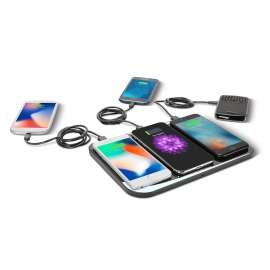 Super Wireless Qi 6 in 1 Device Fast Charging Station