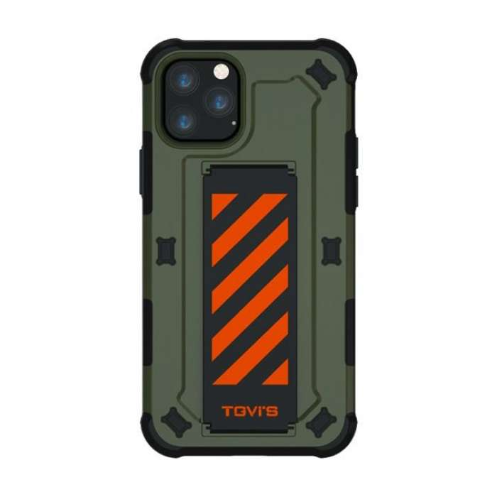 TGVIS Pursuit Series Case For iPhone 11 Pro Max - Green