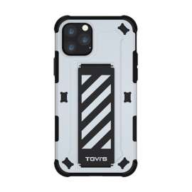 TGVIS Pursuit Series Case For iPhone 11 Pro Max - White