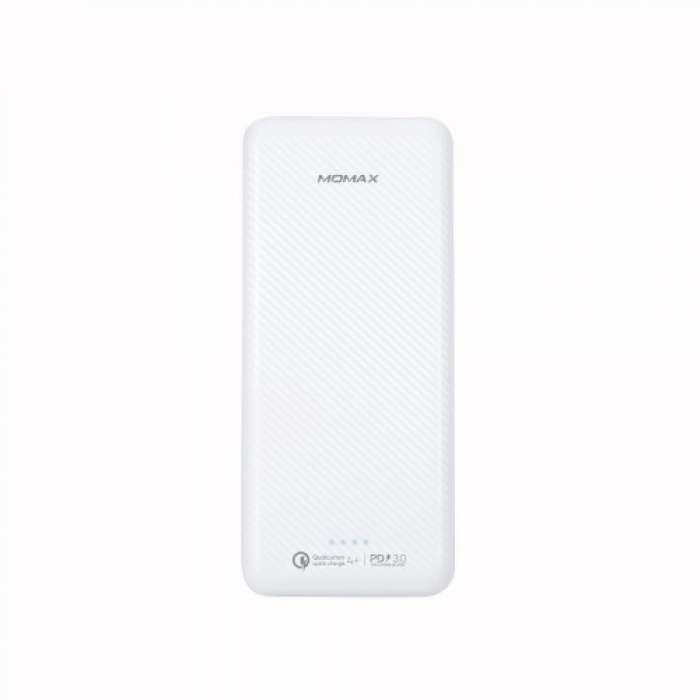 MOMAX iPower Minimal PD5 External Battery Pack 20,000mAh - White