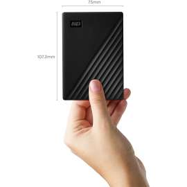 WD 5TB My Passport Portable External Hard Drive - Black