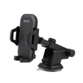 Yesido C23 Free Stretch Automatic Clip Mobile Phone Holder Car Mount - Black
