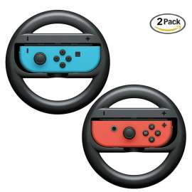 Nintendo Switch Joy-Con Steering Wheel 2 Pack